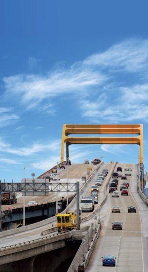 Barrière mobile temporaire Hoan Bridge